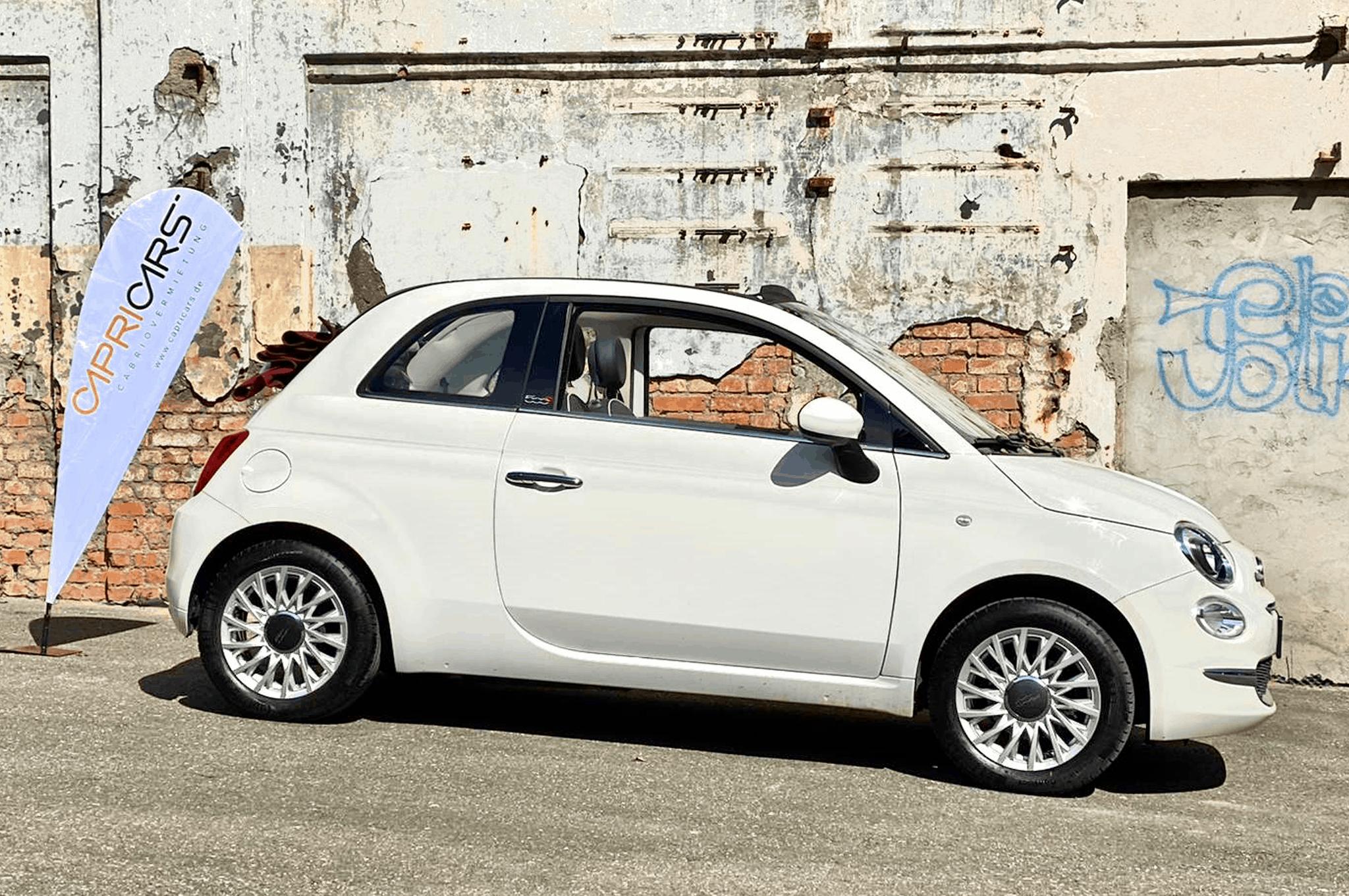 FIAT 500C mieten